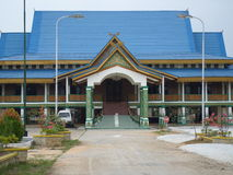 Riau malay traditional building Stock Photo