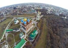 Riazan kremlin Images libres de droits