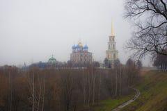 Riazan kremlin Immagini Stock Libere da Diritti