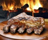 Rib Barbecued imagens de stock royalty free