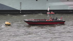 Rib Boat stock video