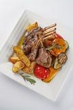Rib Chops grillé savoureux gastronome photo stock