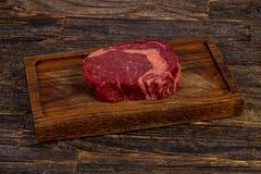 Rib Eye Beef Steak Stockfotos