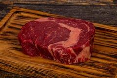 Rib Eye Beef Steak Stockbild