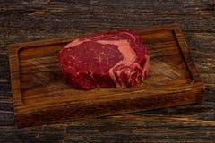 Rib Eye Beef Steak fotos de archivo libres de regalías