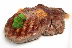 Rib-Eye Beef Steak Royalty Free Stock Photos
