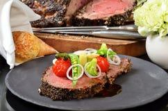 Rib Eye Steak Royaltyfri Bild