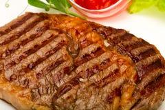 Rib Eye Steak Arkivbild
