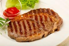 Rib Eye Steak Royaltyfria Bilder