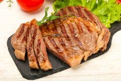 Rib Eye Steak Royaltyfri Foto