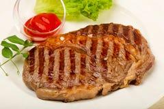 Rib Eye Steak Arkivbilder