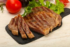Rib Eye Steak Arkivfoto