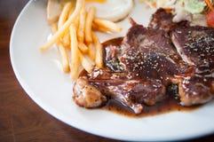 Rib Eye Steak Image libre de droits