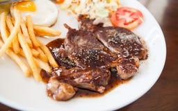 Rib Eye Steak Immagini Stock