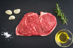 Rib Eye Steak Arkivfoto