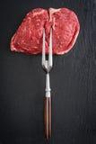Rib Eye Steak Fotografie Stock Libere da Diritti