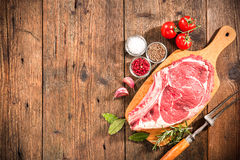 Rib Eye Steak Immagini Stock Libere da Diritti