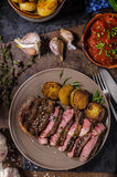 Rib Eye Steak fotografía de archivo