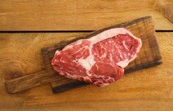 Rib Eye Steak Royaltyfria Foton