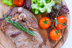 Rib eye steak Stock Image