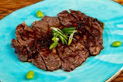 Rib Eye Steak lizenzfreie stockfotos