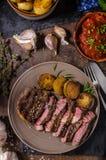 Rib eye steak Stock Photography