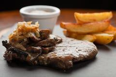 Rib-Eye Steak, shallow DOF Royalty Free Stock Photo