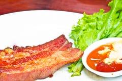 Rib ham steak Stock Image