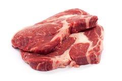 Rib la bistecca dell'occhio fotografia stock