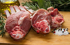 Rib lamb Royalty Free Stock Photography