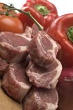 Rib lamb chops Royalty Free Stock Images