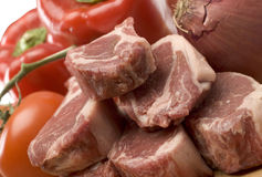 Rib lamb chops Royalty Free Stock Image