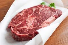 Rib-oog lapje vlees Stock Foto's