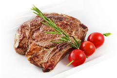 Rib-oog lapje vlees Royalty-vrije Stock Afbeeldingen