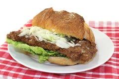 Rib steak bun Stock Image