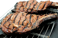 Rib steak Stock Image