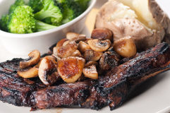 Rib steak Royalty Free Stock Photos