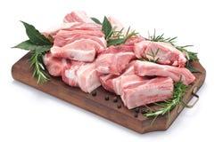 Rib van varkensvlees Stock Fotografie