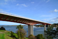 Ribadeo γέφυρα Στοκ Εικόνες