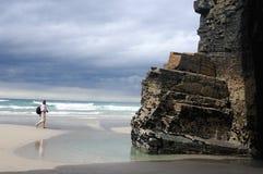 ribadeo Испания стоковое фото