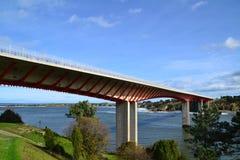 Ribadeo bridge Stock Images