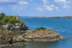 Ribadeo fort. royalty free stock images