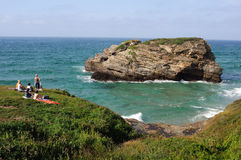 Ribadeo.Spain Royalty Free Stock Image