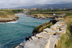 Ribadeo - Spain Stock Images