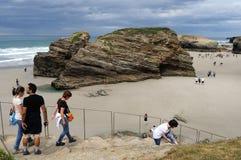 Ribadeo - Spanien Lizenzfreie Stockfotografie