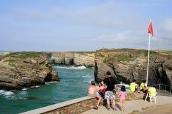 Ribadeo- Spanien Lizenzfreies Stockbild