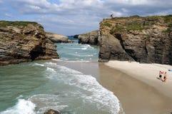 Ribadeo - Spanien Lizenzfreies Stockfoto