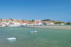 Ribadesella Harbour Royalty Free Stock Images