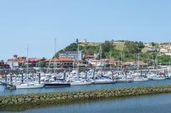Ribadesella Harbour Stock Photos