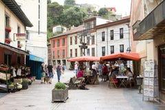 Ribadesella, Spanien Lizenzfreies Stockbild